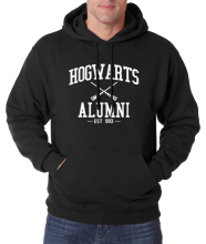 Hogwarts Hoodies men Inspired Magic Print 2017 hot sale spring winter men sweatshirt warm fleece high quality hoodie movie fans