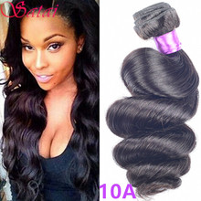 Top Quality Grade 8A Mongolian Loose Deep Wave 4 PCS Lot Unprocessed Virgin Hair Cheap Clean Loose Wave Weave Mongolian Hair