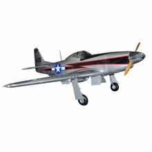"US Stock Flight Model P-51 Mustang 96"" Large Scale RC ARF Fiberglass Model Airplane(China)"