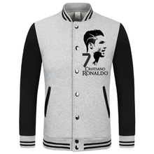 2016 World Cup Cristiano Ronaldo thick velvet baseball uniform men's Jackets camiseta barcelonae 2016 barcelonae kids tracksuit(China)