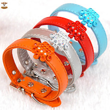 2016 Fashon Jewelry Pet Dog Collars for Small Dogs Chihuahua with Princess Studded Blingbling Pets Accessories Products