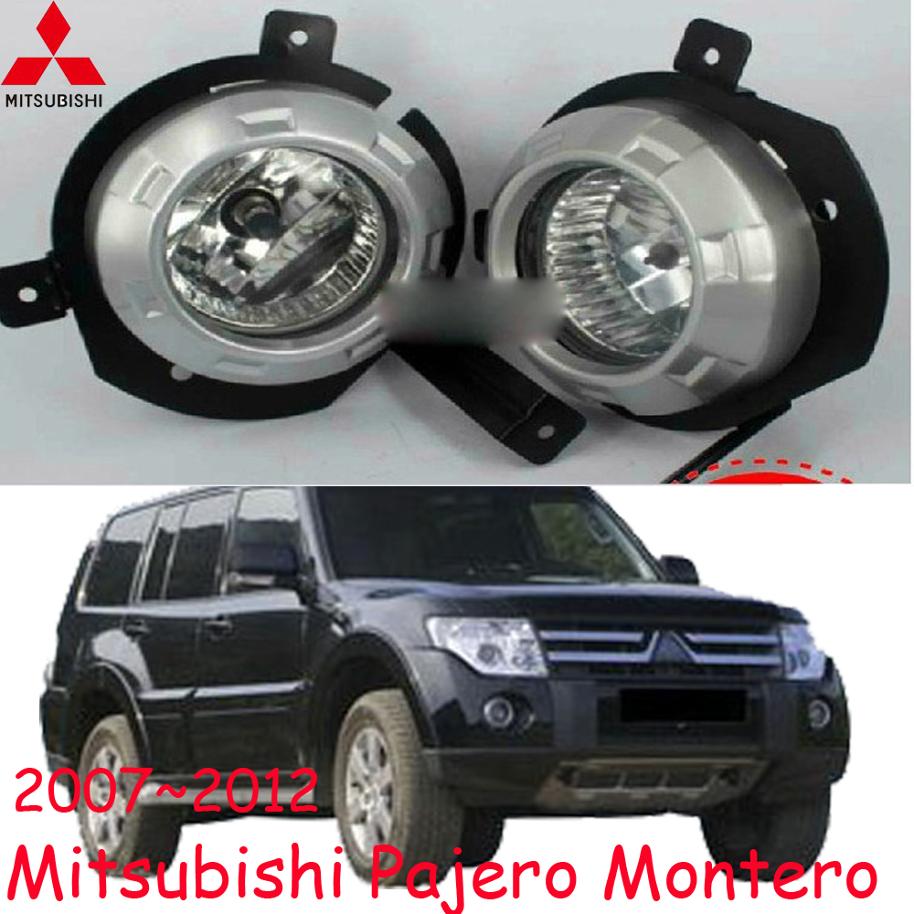 car-styling,Pajero halogen light,2007~2012,Free ship!2pcs/set,Pajero fog light;car-covers,Pajero headlight,Pajero Montero<br><br>Aliexpress