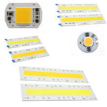 LED COB Chip 110V 220V 9W 10W 20W 30W 50W 70W 100W 120W 150W LED Bulb Lamp Input Smart IC Flood Light Spotlight