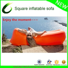 summer outdoor sports  inflatable lounger Couch Bed hangout bag air Sofa Air Bag Portable Waterproof Compression stuff Sacks