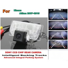 For Nissan Teana / Altima 2013~2016 Car Reverse Rear Camera with Parking Assistance Tracks Module / imports HD CCD Night Vision(China)