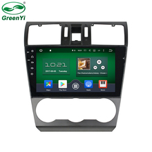 GreenYi ROM 32GB 9 Inch Octa Core Android 6.0.1 Car DVD Player Fit Subaru Forester 2014-2016 Stereo Radio TV 4G GPS Navigation(China)