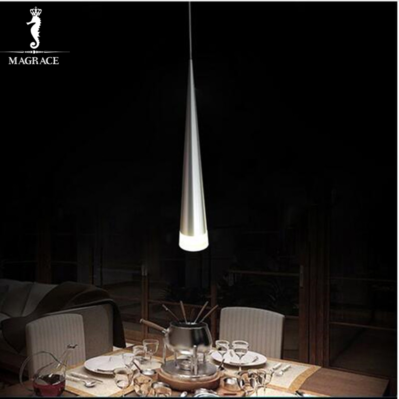 Modern Pendant Light 5W LED Cone-shape Hanging Lamps for Restaurant/ Living Room/Bar Lamparas Home Decoration Lighting Luminaire<br>