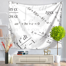 English Words Tapestry Wall Hanging Tapestries Boho Bedspread Beach Towel Yoga Mat Blanket Table Cloth 200*150/150*130c