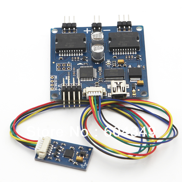 Universal 2-axis 2-axle Brushless Gimbal Controller Open Source V049 Martinez<br><br>Aliexpress