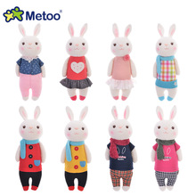 Metoo tiramisu rabbit doll plush toys for children birthday gift top quality many style for your choose(China)