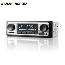 Onever 12V Bluetooth Auto Car Radio 1DIN Stereo Audio MP3 Player FM Radio Receiver Support Aux Input SD USB MMC Remote Control(China)