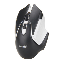 Brand New 2.4GHz USB Optical Wireless Mouse Mice Cordless Computer Laptop Desktop Wireless Mouse