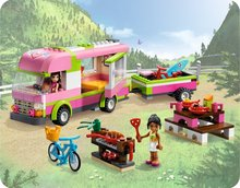 OLIVIA'S Friends 3184 Adventure Camper Retired Olivia Nicole camping bicycle gril Assembling building blocks with(China)
