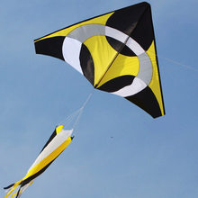 Free Shipping NEW Arrive 2m Power Frisbee Kite / Fiberglass Rod Windsocks Tail With Flying Tools(China)