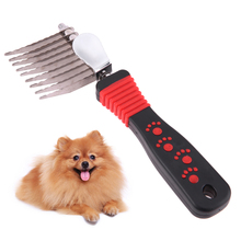 Pet Grooming Tool Hair Brush Dog Cat Combs Cleaning Long Thick Hair Brush 2017 New Pet Product Puppy Kitten Grooming Supplies