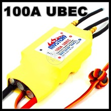 2-7S Lipo 100A ESC 5V/5A UBEC Brushless Speed Controller ESC For RC Boat UBEC100A/S With Water Cooler