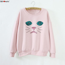 BGtomato Cheap sale drop shipping cartoon hoodies Original brand good quality sweatshirts Super cute women hoodies(China)