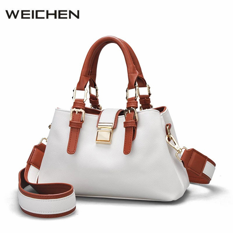 Luxury Handbags Women Bags Designer 2017 Doctor White Shoulder Bag Female Women Messenger Bags Crossbody Women Leather Handbag <br>