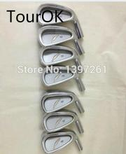 TourOK Golf Fourteen TC530 Golf Irons set 4-9P Golf Clubs no Club shaft Free shipping(China)