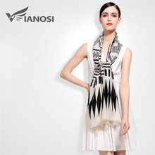 [VIANOSI] New Fashion Trendy Bohemian Scarf Women Cotton Wrap Ladies Shawl Girl Large Pretty Scarves Brand VA021