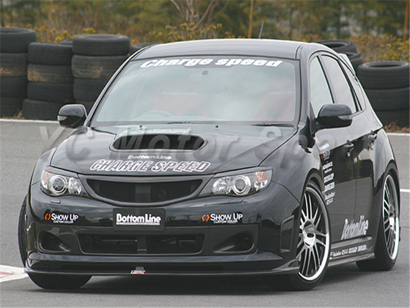2008-2012 Subaru Impreza GRB WRX STI Charge Speed Style Front Grille CF (8)