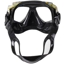 NEW Disguise Camouflage Scuba  Adults Mask Myopic Optical Lens Snorkeling Gear Spearfishing Swim Goggles Diving Swimming Mask L2