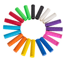1 Pair Soft Rubber Plastic Outdoor Sports Bike Bicycle BMX MTB Cycle Mountain Bicycle Bike Handlebar Tape Handle Bar 10 Colors(China)