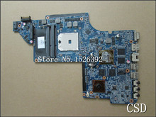 for HP Pavilion  DV6-6000  650854-001  Laptop Motherboard HD6750/1G Series Notebook PC system board 100%Tested