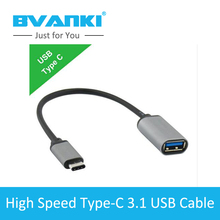 [Bvanki Type-C]10Pcs/lot 2016 trending product USB 3.1 Type C To USB-C cable Data Sync type-c Charge Cable for Nexus for Macbook