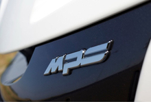 1 PCS MPS Zinc Alloy Chrome Metal Car Styling Emblem Badge Refitting Automobile Exterior Cool Advance 3D car Sticker