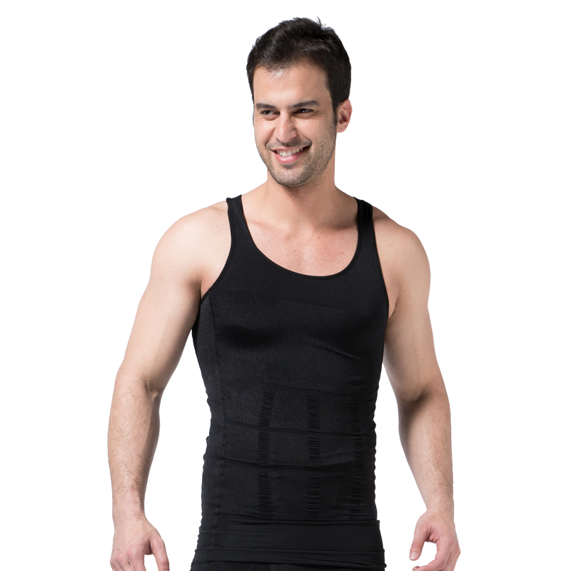 Men Slimming Underwear Body Shaper Waist Cincher Corset Men Shaper Vest Body Slimming Tummy Belly Waist Slim Body Shapewear 6