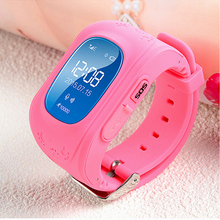 2017 Best Child GPS Tracker Smart Watch Fitness Activity Locator Phone Pedometer Smartwatch SOS Smat Watch For kids Boys Girls