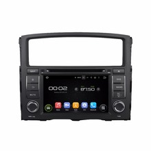 Quad Core 1024*600 Android 5.1 Car DVD GPS Navigation Player Car Stereo for MITSUBISHI PAJERO 2006-2012 Radio Wifi(China)