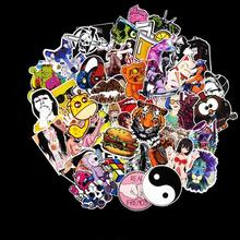 50Pcs/Lots Anime Stickers Notebook Scrapboking Stiker for Children Car-styling Kids Stickers Toy For Laptop Suitcase(China)