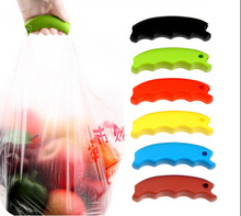Brand New Candy Color Silicone High Strength Multi Shopping Grocery Bag Holder Handle Carry Carrier Carry Bag Tools(20kg)(China)