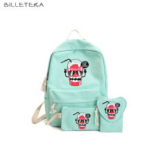 BILLETERA New Women Cartoon Shoulder Bags 3 Pics Bags Famous Brand Bags(China)