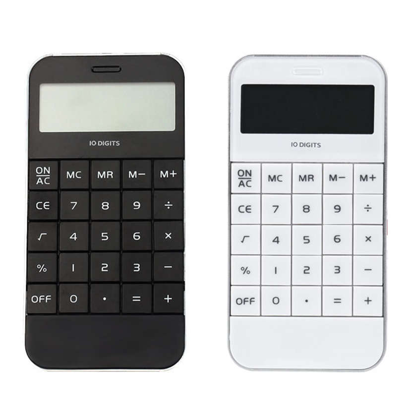 Black and White in Color Promotionlay Office Supplies Student Mini Electronic Digit Calculator Jun 28<br><br>Aliexpress