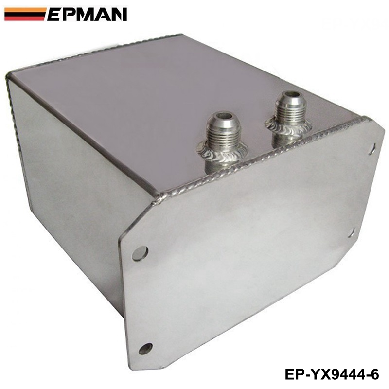 EPMAN Universal FUEL surge tank&fuel cell&oil tank 6L for universal car model, mirror polished EP-YX9444-6(China (Mainland))
