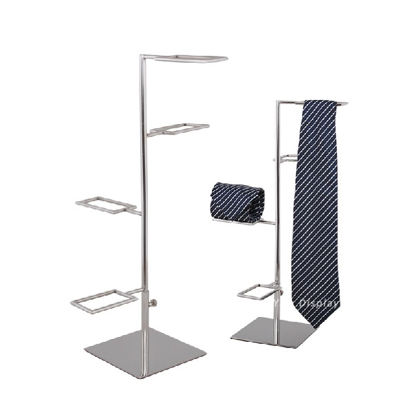 Free Shipping Tie Display Necktie Display Rack Multilayer Necktie Stand Tie Holder Scarf Display Holder Scarf Stand RTD004<br>