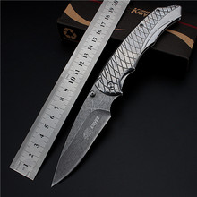 2017 New Free Shipping Outdoor Fixed Tactical Combat Folding Knife Self-defense Wilderness Survival Camping High Hardness Knives(China)