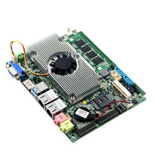 mini mother board mini car pc motherboard with Intel G4 Mobile Haswell-u singel Chipset(China)