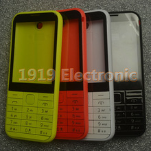 New Full Complete Mobile Phone Housing Cover Case+Enlish Or Russian Keypad For Nokia Asha 225 N225 + Tools+Tracking