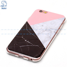 "KRY Marble Phone Cases for iphone 6 Case Texture Soft TPU ShockProof 4.7"" Back Protective Cover For iphone 6s Cases Capa Coque(China)"