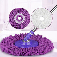High Adsorption Fiber Round Mop Head Spinning Magic Spin Mop Rotating Heads Mop Floor Cleaning tool for Tile Wax Floor polishing