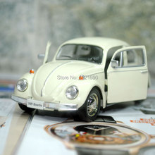 Brand New UNI 1/32 Scale Car Model Toys Germany 1967 Volkswagen Beetle Diecast Metal Pull Back Car Toy For Gift/Collection/Kids