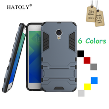 HATOLY Case Meizu M5 Cover Silicone Robot Armor Slim Hard Back Rubber Phone Cover Meizu M5 Case Meizu M5 /Meilan 5 <