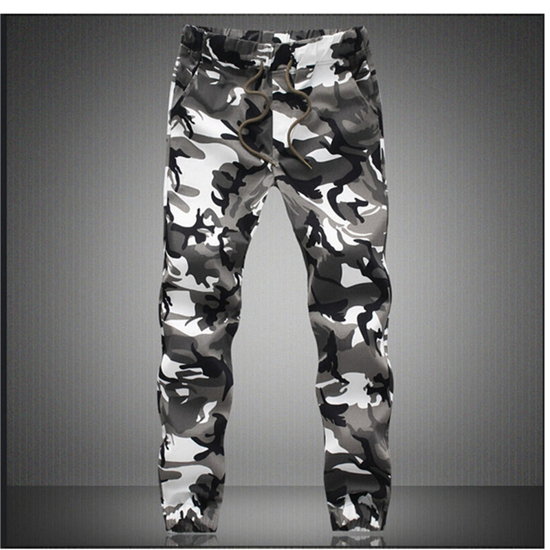 Trousers Jogger-Pants Harem Military Comfortable Men Camouflage Pure-Cotton Spring Autumn title=