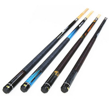 New Professional 1/2 Jointed Billiard Pool Cues Stick 11.5mm Tip 145cm For Black 8 Nine Ball Four Colors Made In China With Gift