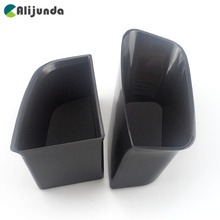 Hot Products! 2 units / group front door storage box arm box glove arm rest box for Audi Q5 2009-2016 car styling
