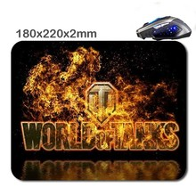 World Of Tanks 180X220X2cm  Rubber Gaming Mouse Mat Can Be Used Tablet Usb Micro Sd Laptop Mini Pc Keyboard